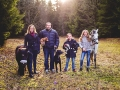 Familjeporträtt, Fotografi Evelina Eklund Hassel i Jönköping, Småland
