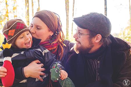 Familjeporträtt, Fotograf Evelina Eklund Hassel i Jönköping och Karlstad